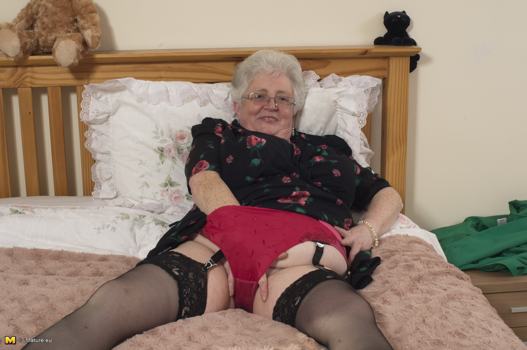 British granny sex