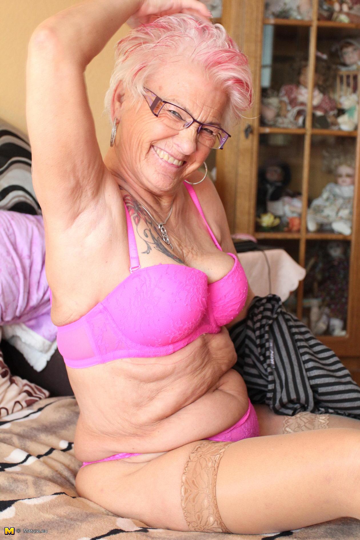Horny German Granny