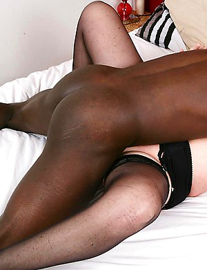 Naughty English housewife goes interracial